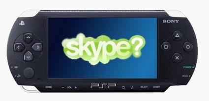 Con la PSP ora si telefona, grazie a Skype….