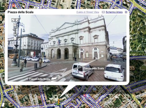 Google Street View…