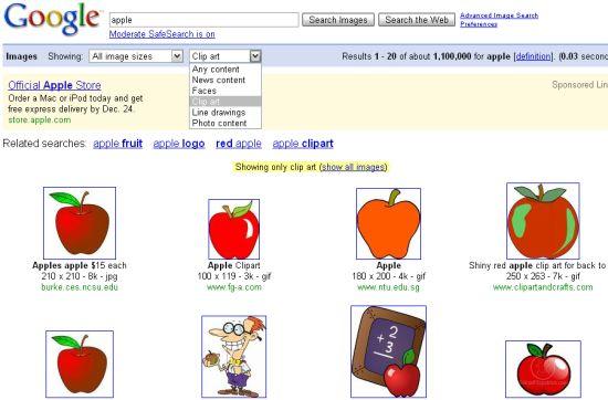 Google Images: un nuovo filtro per la ricerca immagini