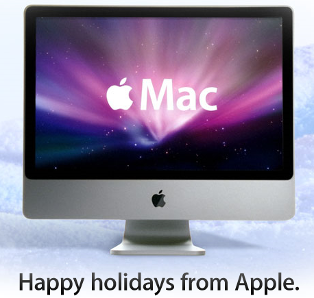 Happy holidays from Apple