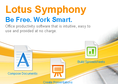 Lotus Symphony: un&#8217;altra suite office