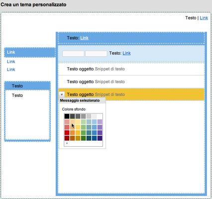 Gmail: create il vostro tema