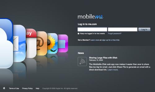 MobileMe è stato aggiornato!