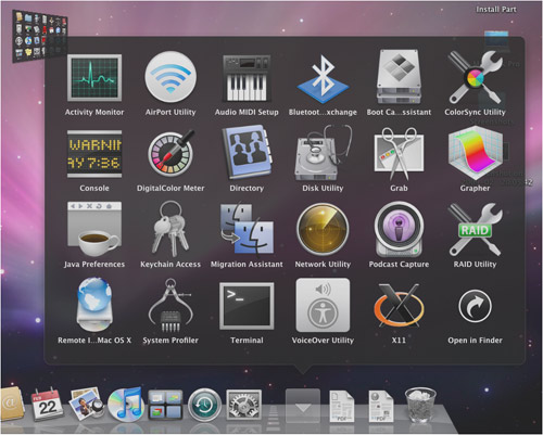 Snow Leopard: ecco i primi screenshot