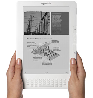 Amazon presenta il nuovo Kindle DX