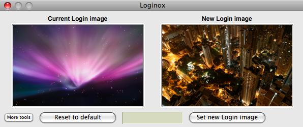 Loginox: cambiare lo sfondo di login del vostro Mac