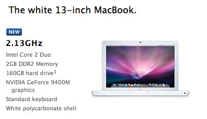 MacBook Bianco: invece di andare in pensione si rinnova