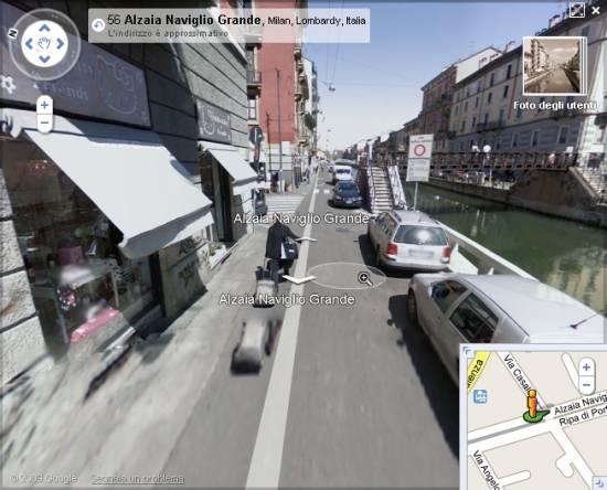 Google Street View modifica il sistema di navigazione