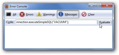Come velocizzare Firefox svuotando il database SQLite