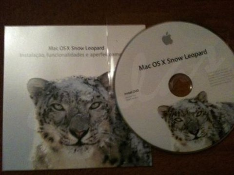 Snow Leopard: le foto della nuova confezione