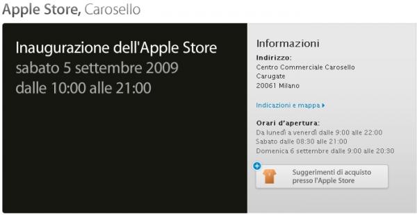 Apple Store Milano: pronti all'inaugurazione?
