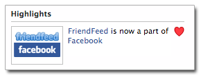 Facebook ha acquistato FriendFeed