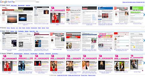 Google News Flipper