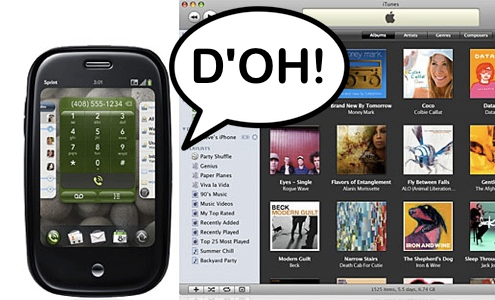 Palm Pre vs iTunes, l'USB-IF da ragione ad Apple