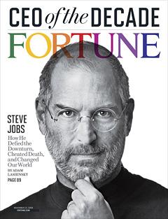 Steve Jobs incoronato CEO del decennio