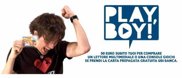 Play Boy, Play UBI La nuova iniziativa di UBI Banca per i giovani