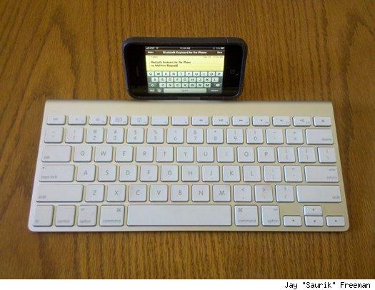 BTstack Keyboard: usare una tastiera bluetooth sul vostro iPhone