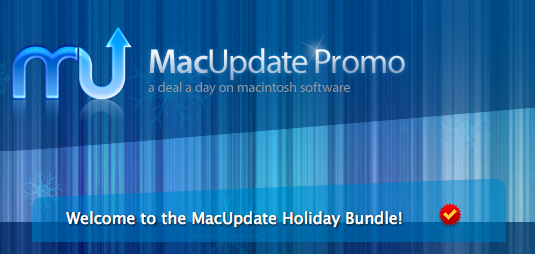 MacUpdate Holiday Bundle: 11 software a soli 49,99 $