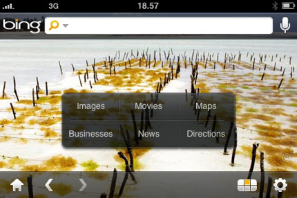 Microsoft Bing&#8230;arriva la versione per iPhone