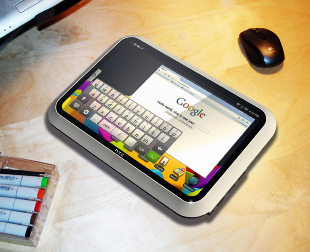 HTC Evolve, un concept di tablet equipaggiato con Android