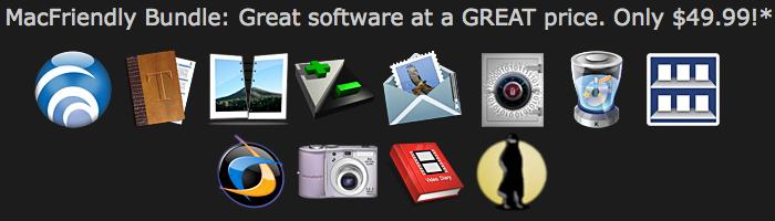 MacFriendly: un bundle di 12 software a $49,99