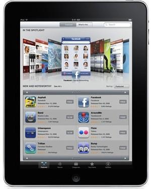 Oltre 3.266 applicazioni per iPad…