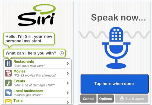 Apple acquisisce Siri
