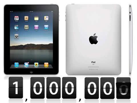 Apple: venduti un milione di iPad…