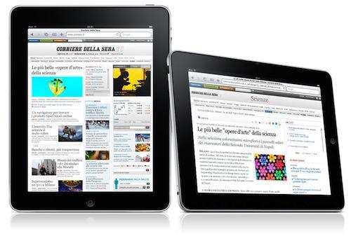 iPad arriva in Italia il 28 maggio: ecco i prezzi