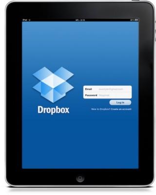 Dropbox: arriva la versione per iPad