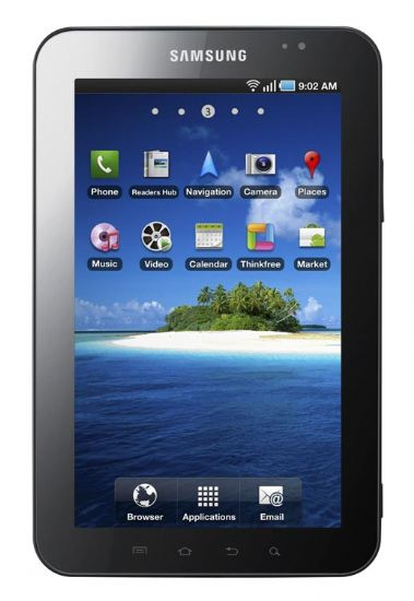 Samsung Galaxy Tab: ecco le caratteristiche ufficiali