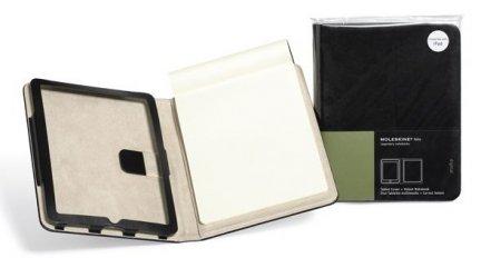 iPad: arriva il case ufficiale Moleskine