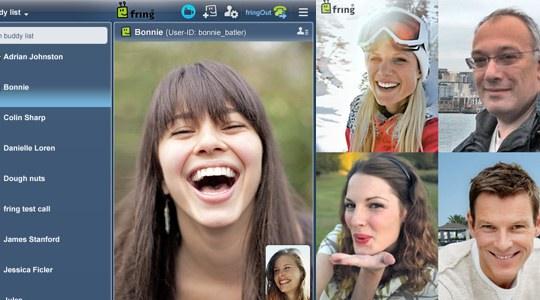 Fring porta la video chat di gruppo su iPad