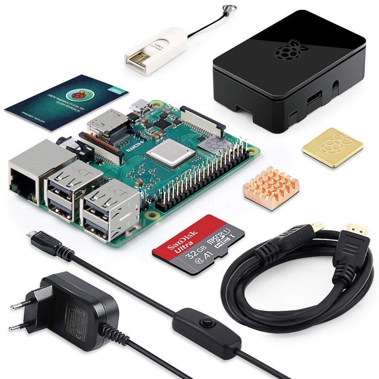 Raspberry Pi 3 Modello B+ con microsd da 32 GB in offerta